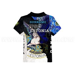 DED Children's IPSC Estonia T-shirt
