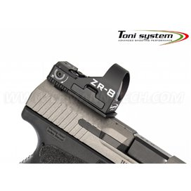TONI SYSTEM OPXCTP9 Aluminium Red Dot Mount for Canik TP9 SFX