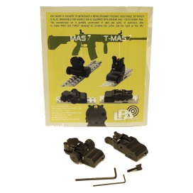 LPA MAS7 & T-MAS7 Folding Adjustable Set for Assault Rifles