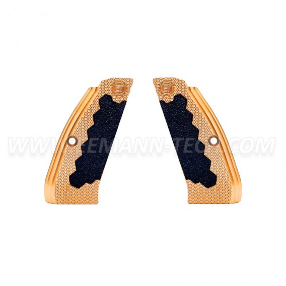 Eemann Tech Brass Long Grips for CZ 75, CZ 75 TS, CZ SHADOW