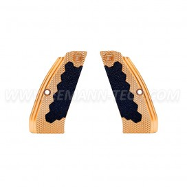 Eemann Tech Brass Long Grips for CZ 75, CZ 75 TS, CZ SHADOW 2