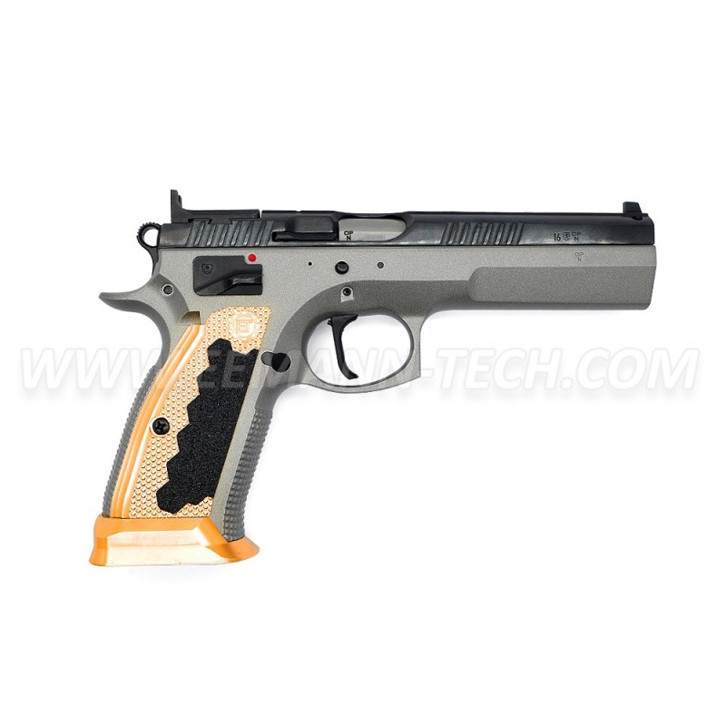 Eemann Tech Brass Magwell for CZ 75 TS - Eemann-tech com