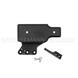 Eemann Tech C-More Scope mount with thumb rest for CZ 75 TS