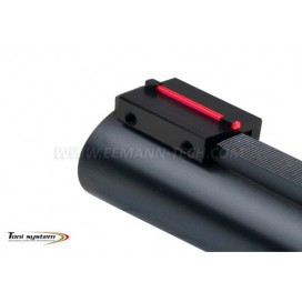 Toni System MR81 Hunting Sight C Profile 1,0mm Red & 8,1mm height
