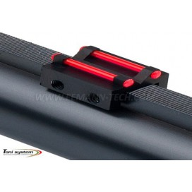 Toni System TR81 Hunting Rear Sight C Profile 1,0mm Red & 8,1mm height