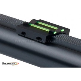 Toni System TV81 Hunting Rear Sight C Profile 1,0mm Green & 8,1mm height