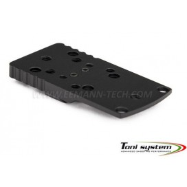 TONI SYSTEM OPXSTIB Red Dot Base for STI, 1911, 2011