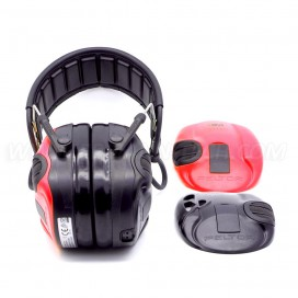 3M™ PELTOR™ SportTac™ Hearing protection Red/Black MT16H210F478RD