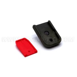 DPM MFPG-GL/1 Magazine Floorplate with Car Glass Breaker for GLOCK 9mm/.40S&W/357Sig Polymer Green