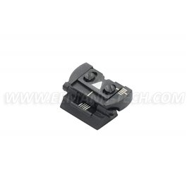 LPA TC82 Folding Rear Sight with Windage and Elevation Adjustment