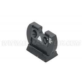 LPA TC83 Folding Rear Sight with Elevation Adjustment